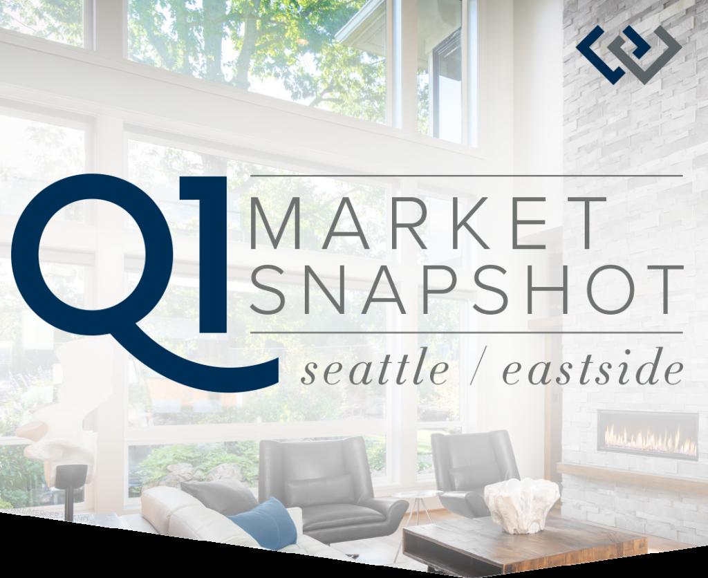 Q1 Market Snapshot: Seattle & The Eastside
